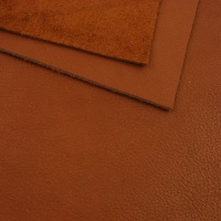 1.7mm SALE Red Brown Crease Texture Leather A4