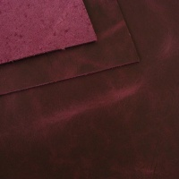 1.8-2mm Purple Rustic Style Leather A4