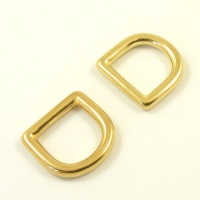 16mm 5/8'' Cast Brass Deep D Ring