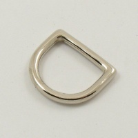16mm 5/8'' Nickel Plated Deep D Ring