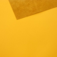 1mm Smooth Cowhide Yellow A4