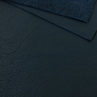 1mm Textured Soft Cowhide Blue A4