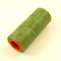 Heavy 1mm Synthetic Thread Green