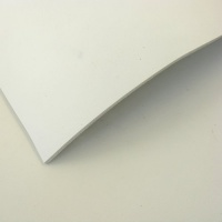 2 - 2.5mm White Vegetable Tanned Leather 30 x 60cm Size