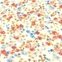 2.3mm Heavyweight Floral Print Leather A4