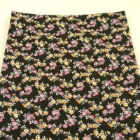 2.5mm Heavyweight Floral Print Leather 30x60cm