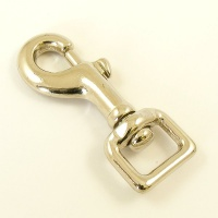 20mm Nickel Plated Trigger Clip Square Eye