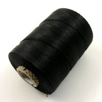 REDUCED 250g Black Linen HEAVY 4/18 Thread For Leather