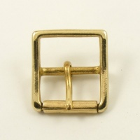 32mm  1 1/4'' Cast Brass Whole Roller Buckle