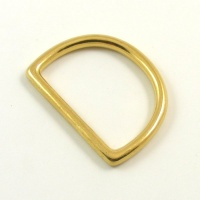 "32mm  1 1/4"" Cast Brass D Ring"