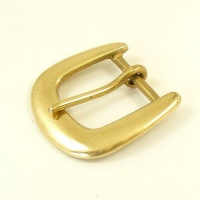 32mm Rounded Brass Belt Buckle