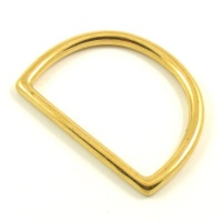 "38mm  1 1/2"" Cast Brass D Ring"