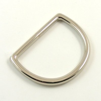 "38mm 1 1/2"" Nickel Silver D Ring"