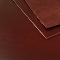 2.8-3mm Burgundy Vegetable Tanned Cowhide A4