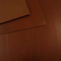 2.8-3mm Chestnut Brown Vegetable Tanned Cowhide A4