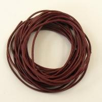 Wine Leather Thonging 2mm Round 5 Metres