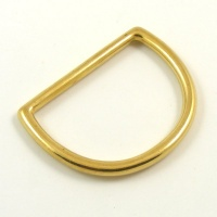50mm 2 inch Cast Brass D Ring