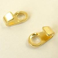 Walking Boot Hooks Brass Plated