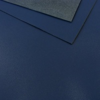 1.2 - 1.4mm Royal Blue Calf Leather A4