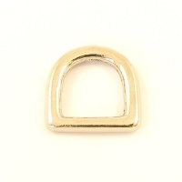 12mm 1/2'' Nickel Silver Deep D Ring