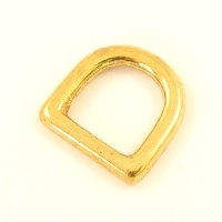 12mm 1/2'' Cast Brass Deep D Ring