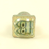 12mm Decorative Letter B Embossing Stamp