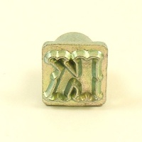 12mm Decorative Letter K Embossing Stamp