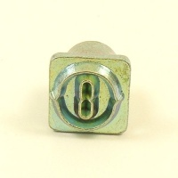 12mm Decorative Letter O Embossing Stamp