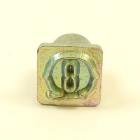 12mm Decorative Letter Q Embossing Stamp