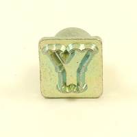 12mm Decorative Letter Y Embossing Stamp