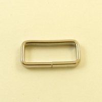 Slim Belt Loops Nickel Plated 20mm