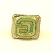 20mm Modern Letter G Embossing Stamp