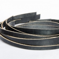 Leather Strip Value Pack Black 500g