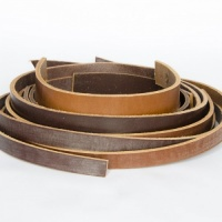 Leather Strip Value Pack Brown & Tan 500g