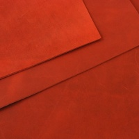 2mm Red Rustic Style Leather A4