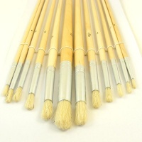 Slim Paint Brush Set