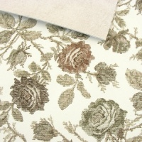 1.7mm SALE Tapestry Style Floral Print Leather 30x60cm
