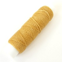 0.4mm Fine Beige Synthetic Waxed Thread