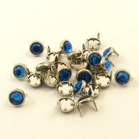 BLUE Crystal Studs 10mm