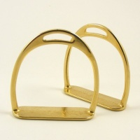 Brass Rocking Horse Stirrups