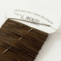Brown Linen Wenzel Carded Thread