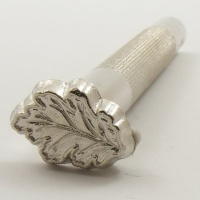L950 Leather Embossing Stamp Oak Leaf