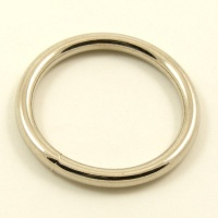 O Ring Nickel Plated Iron 38mm 1 1/2''