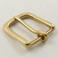 Solid Brass Belt Buckle 1 inch 25mm