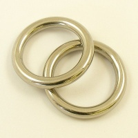 Solid Stainless Steel Ring 25mm
