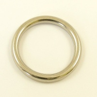 Solid Stainless Steel Ring 35mm