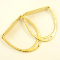REDUCED Brass Rocking Horse Stirrups