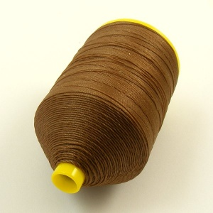 Warm Brown Nylon Thread for Machine Sewing Leather