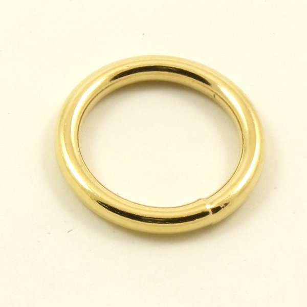 Brass Plated Steel Rings