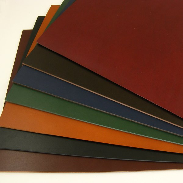1.5mm Vegetable Tanned Coloured Leathers